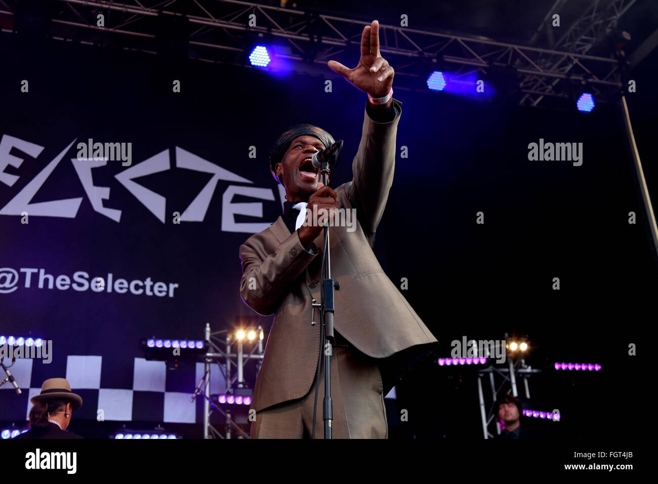 The Selecter, Village Green Music and Arts Festival, Southend-on-Sea, Essex © Clarissa Debenham / Alamy Stock Photo