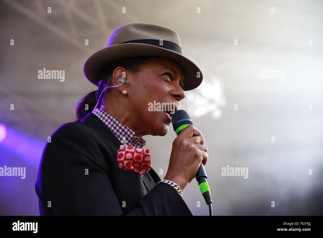 The Selecter, Village Green Music and Arts Festival, Southend-on-Sea, Essex © Clarissa Debenham / Alamy - Stock Image