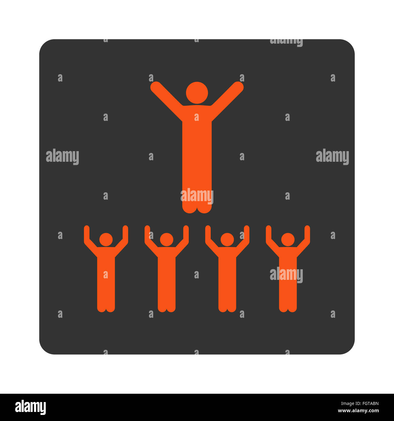 Religion icon - Stock Image