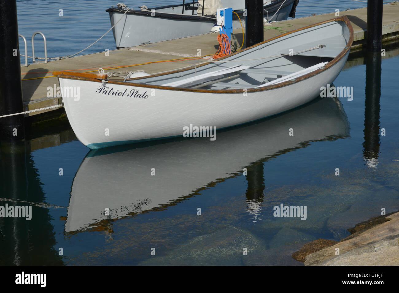 Row boat, - Stock Image