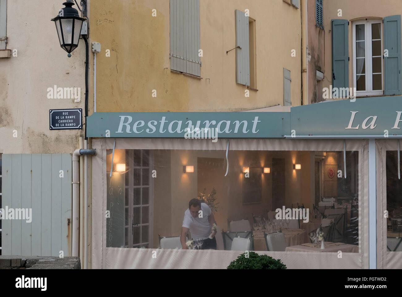 Altstadt von Saint-Tropez, Dep. Var, Côte d'Azur, Frankreich   old town, Saint-Tropez, Dep. Var, Côte d'Azur, France Stock Photo