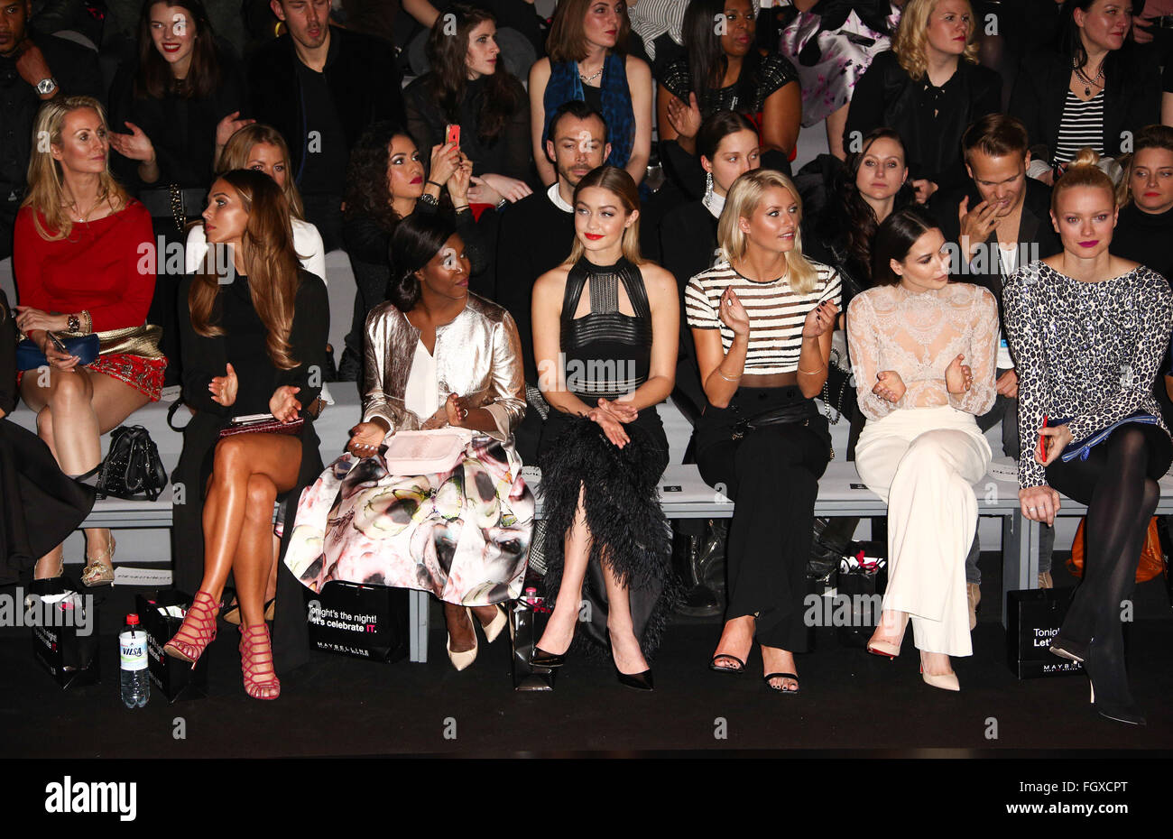 The Maybelline New York Make Up Runway At Mercedes Benz Fashion Week