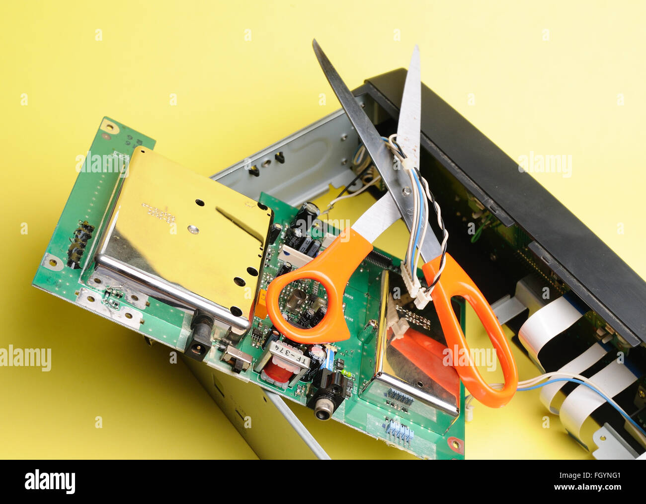 Printed Circuit Board - Stock Image