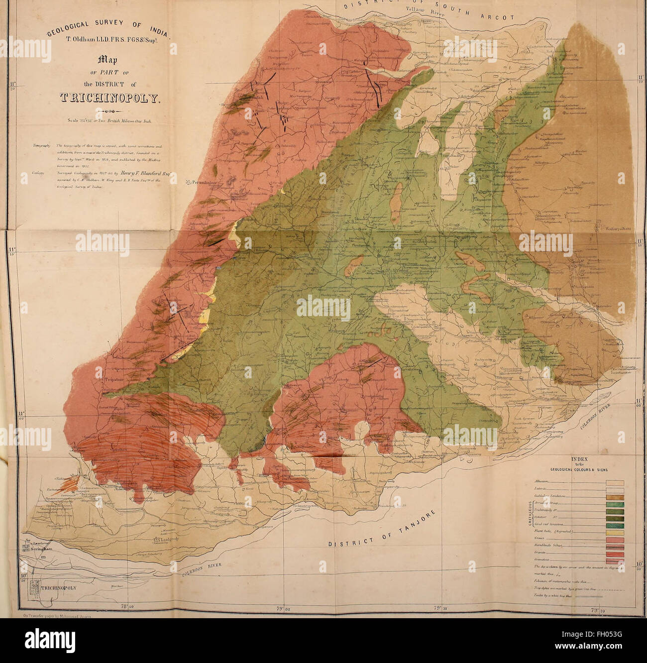 Geological Map Of India.Geological Map India Stock Photos Geological Map India Stock