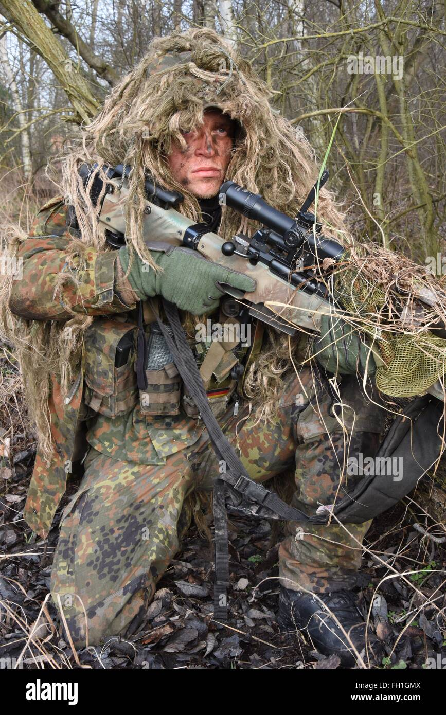 Sniper of Sniper Platoon, 2nd Company, 232nd Mountain Infantry Stock
