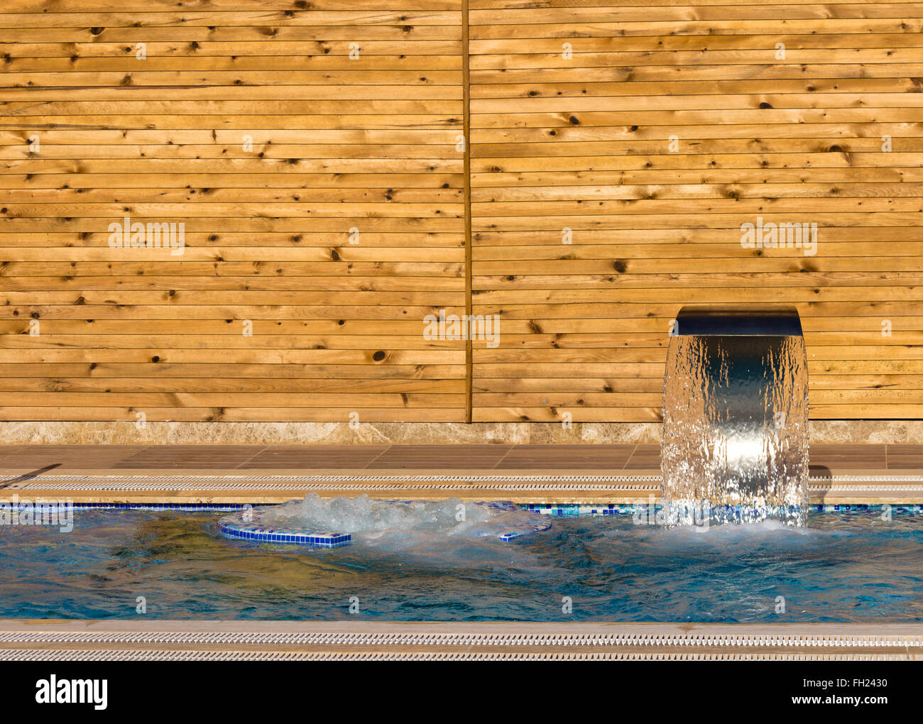 Spa hydrotherapy - Stock Image