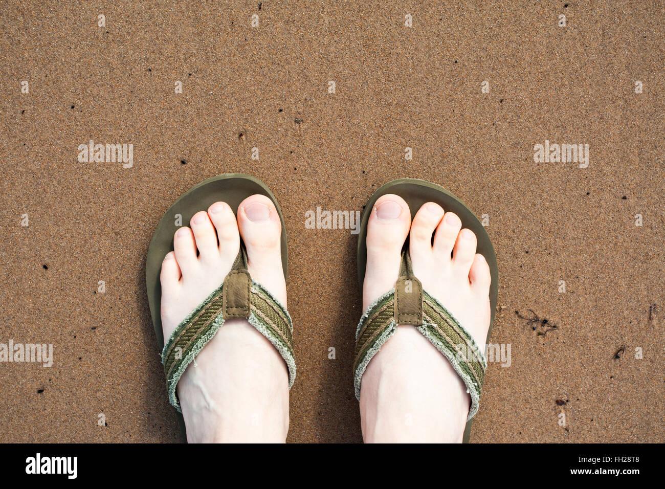 3c5194498 Wearing Flip Flops Stock Photos   Wearing Flip Flops Stock Images ...