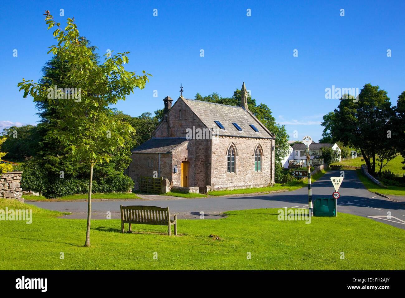 Methodist Chapel, Blencow, Cumbria, England, United Kingdom Stock ...