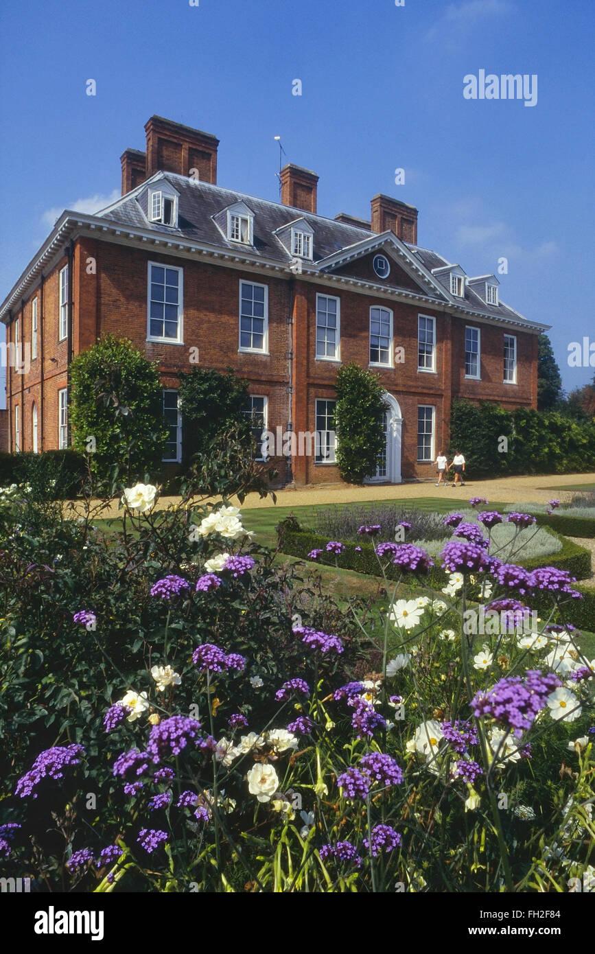 Squerryes Court and gardens, Westerham. Kent. England. UK - Stock Image