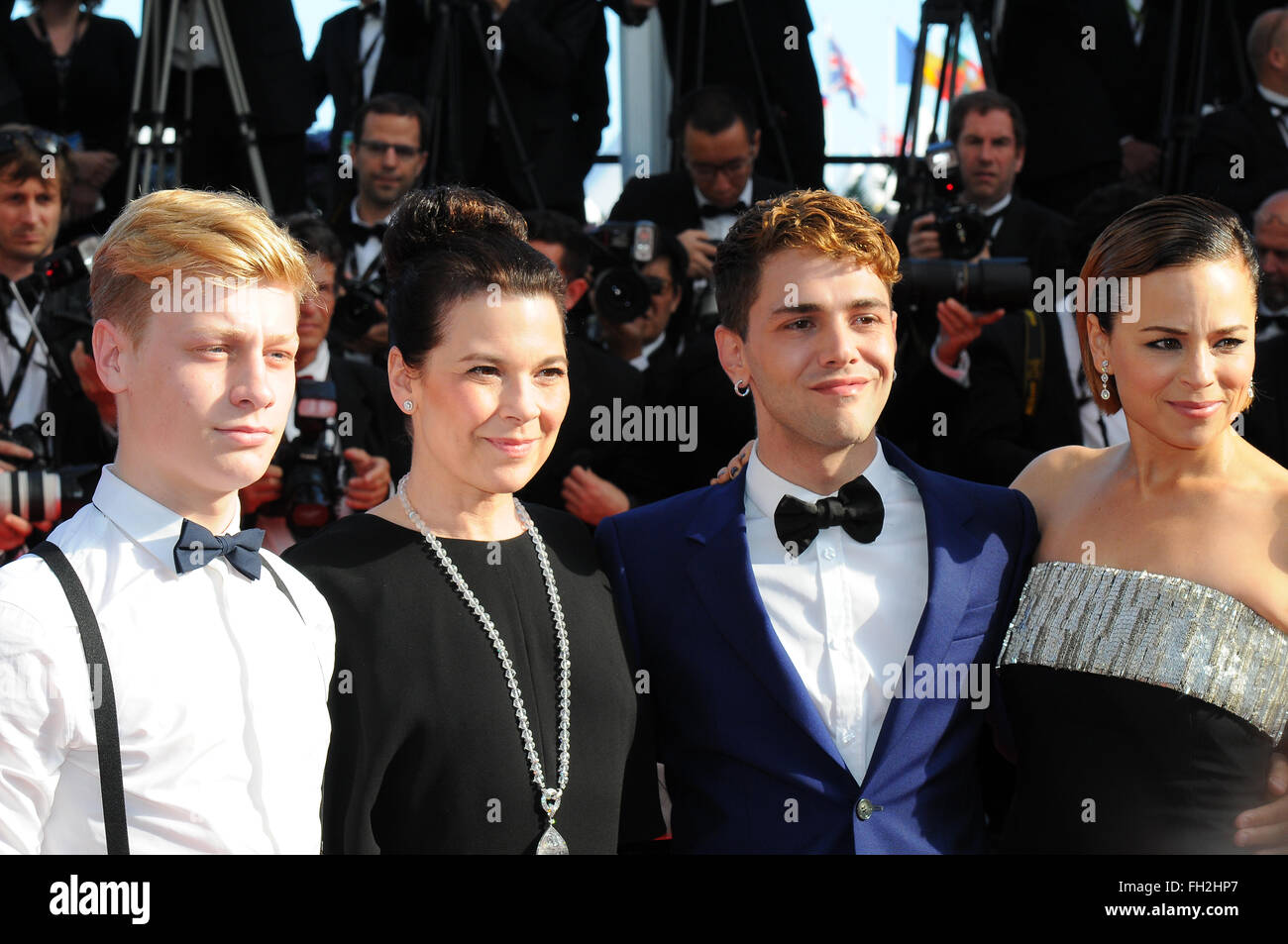 May  24th, 2014 - Cannes  Xavier Dolan attends the Cannes Film Festival. - Stock Image