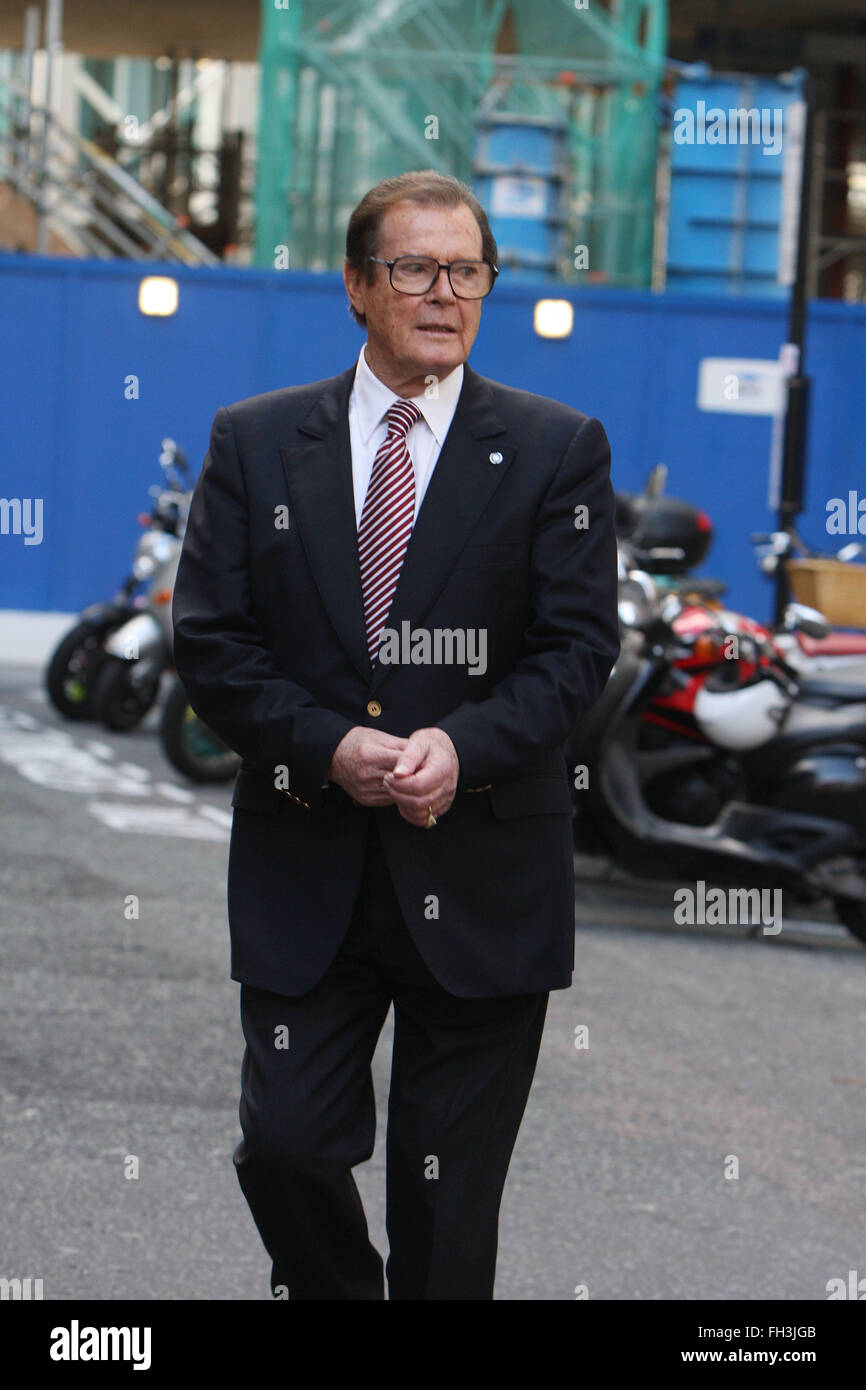 Roger Moore London (credit image © Jack Ludlam) - Stock Image