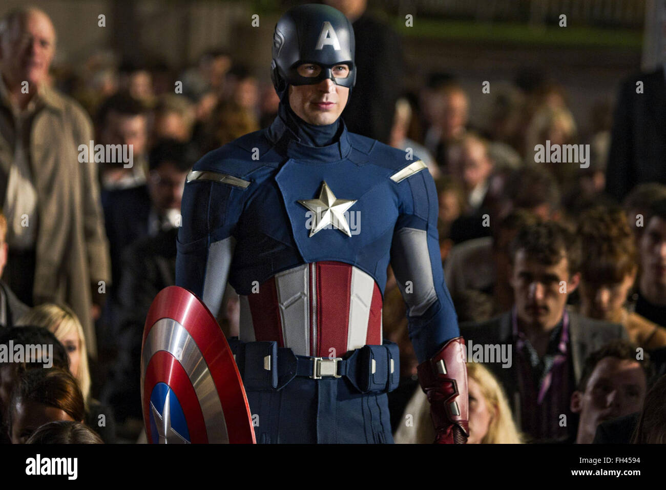 Marvel's The Avengers is a 2012 American superhero film based on the Marvel Comics superhero team of the same name. Stock Photo