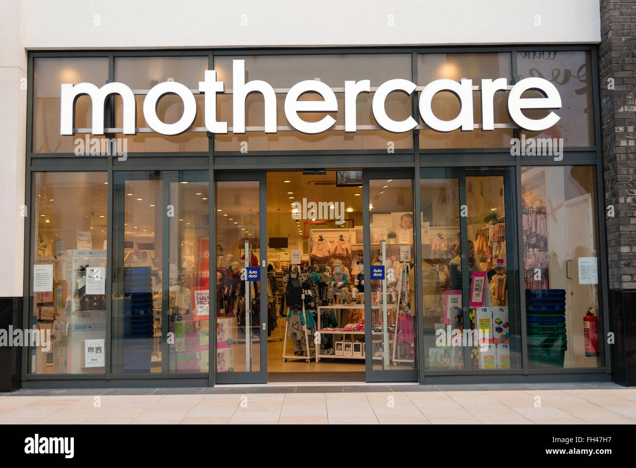 Mothercare store, UK. - Stock Image