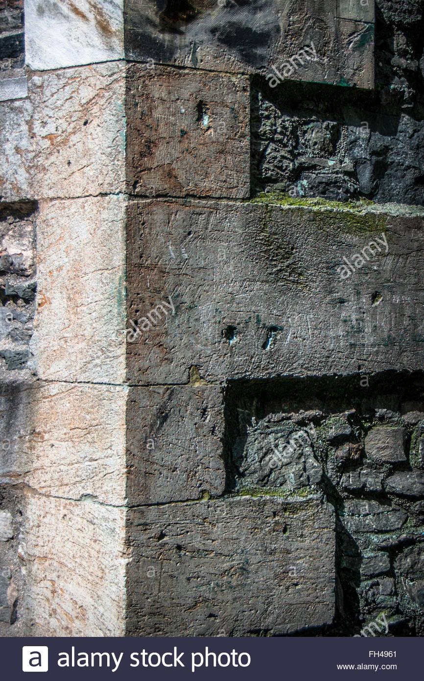 The corner - Stock Image