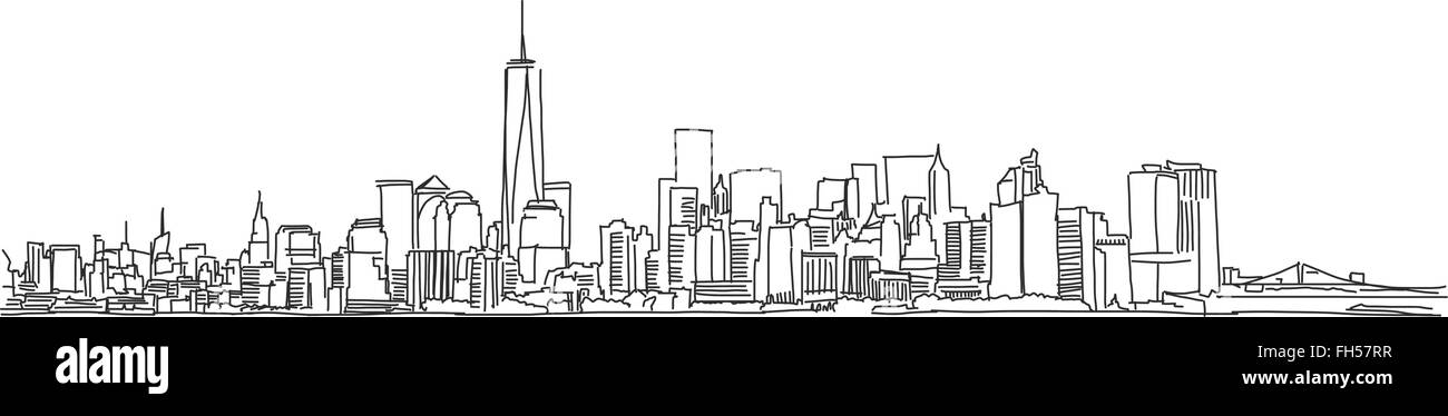new york tourism stock vector images alamy