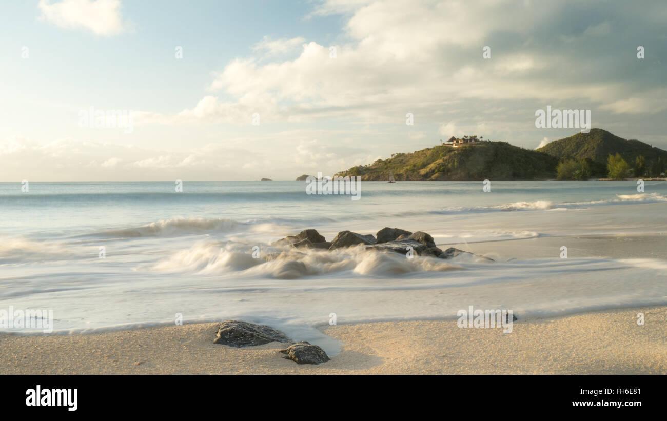 Caribbean Mountain Resort - Stock Image
