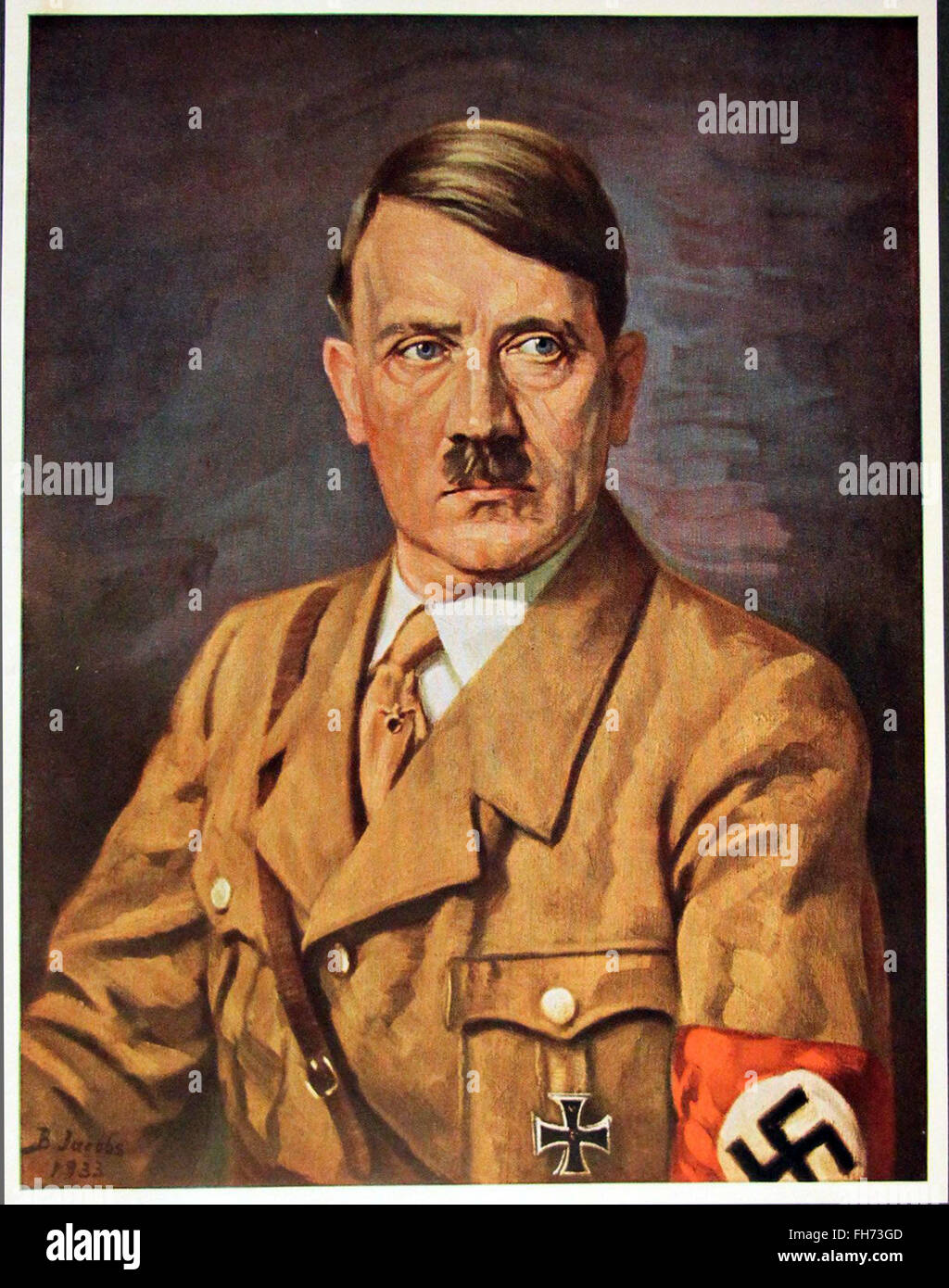 Who Painted Hitler S Portrait