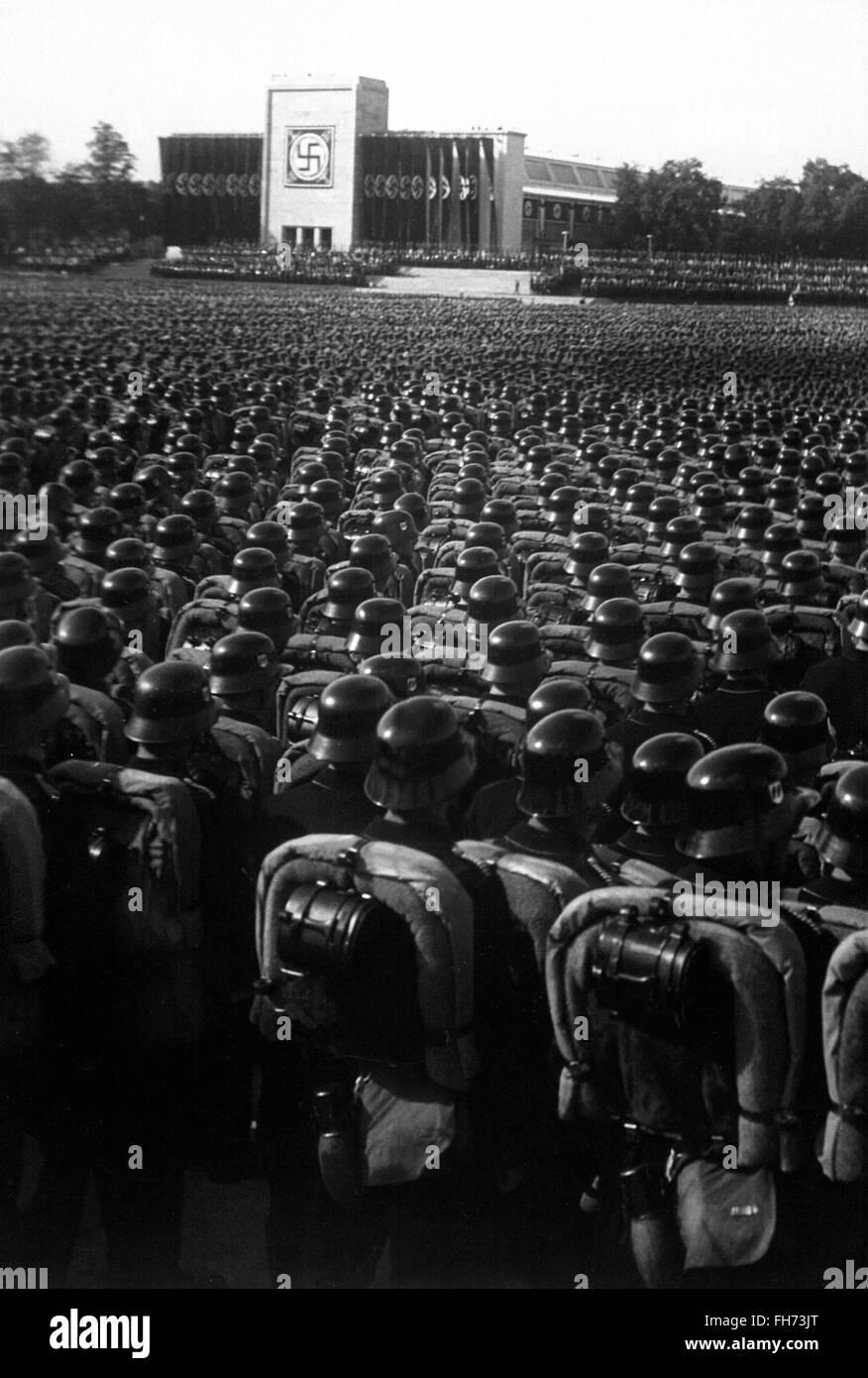 Reichsparteitag 1935 - German Nazi Propaganda Photography - WWII - Stock Image