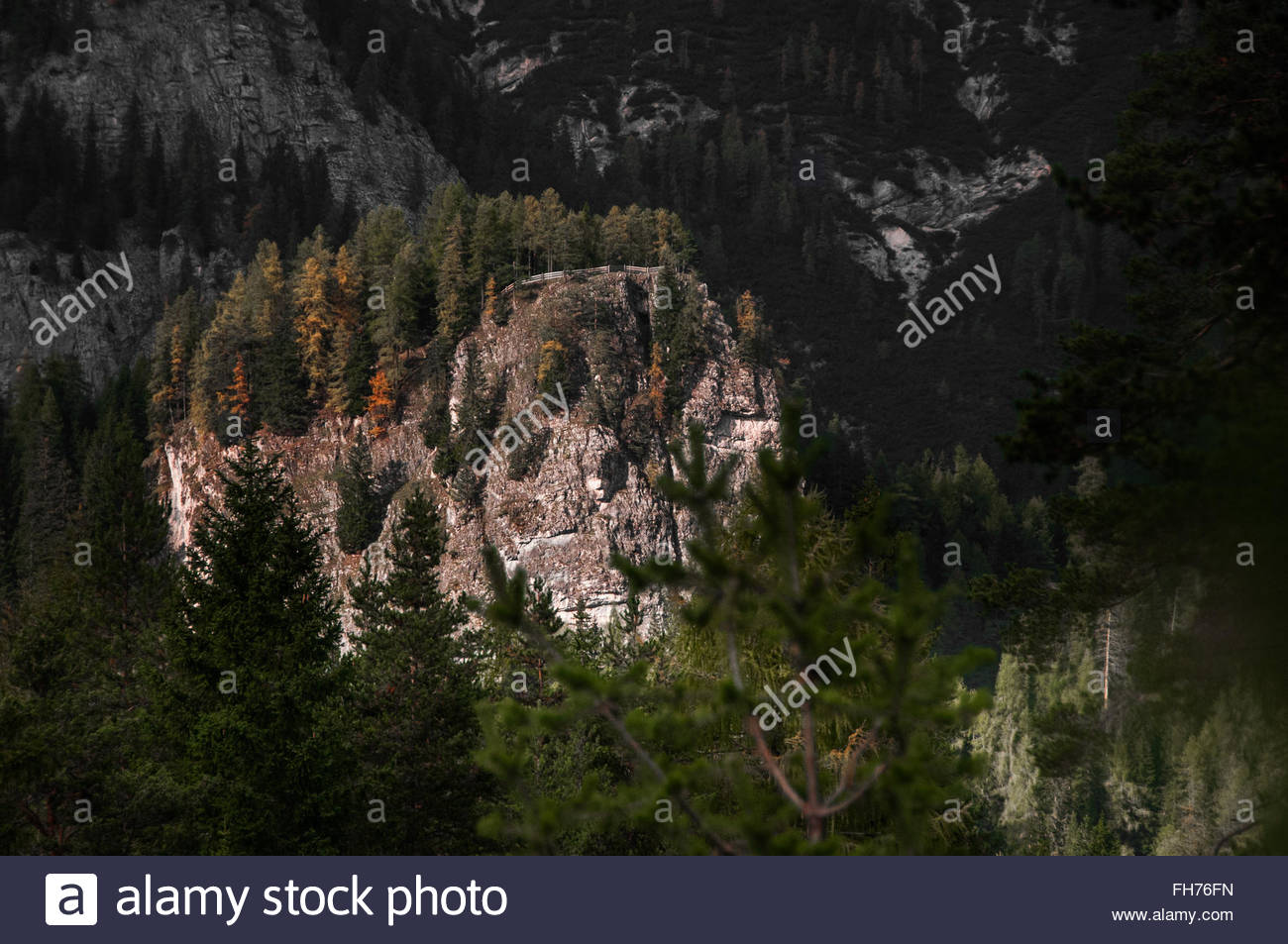 Autumn Dolomiti - Stock Image