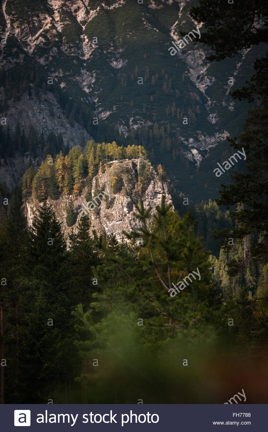 Dolomiti Autumn - Stock Image