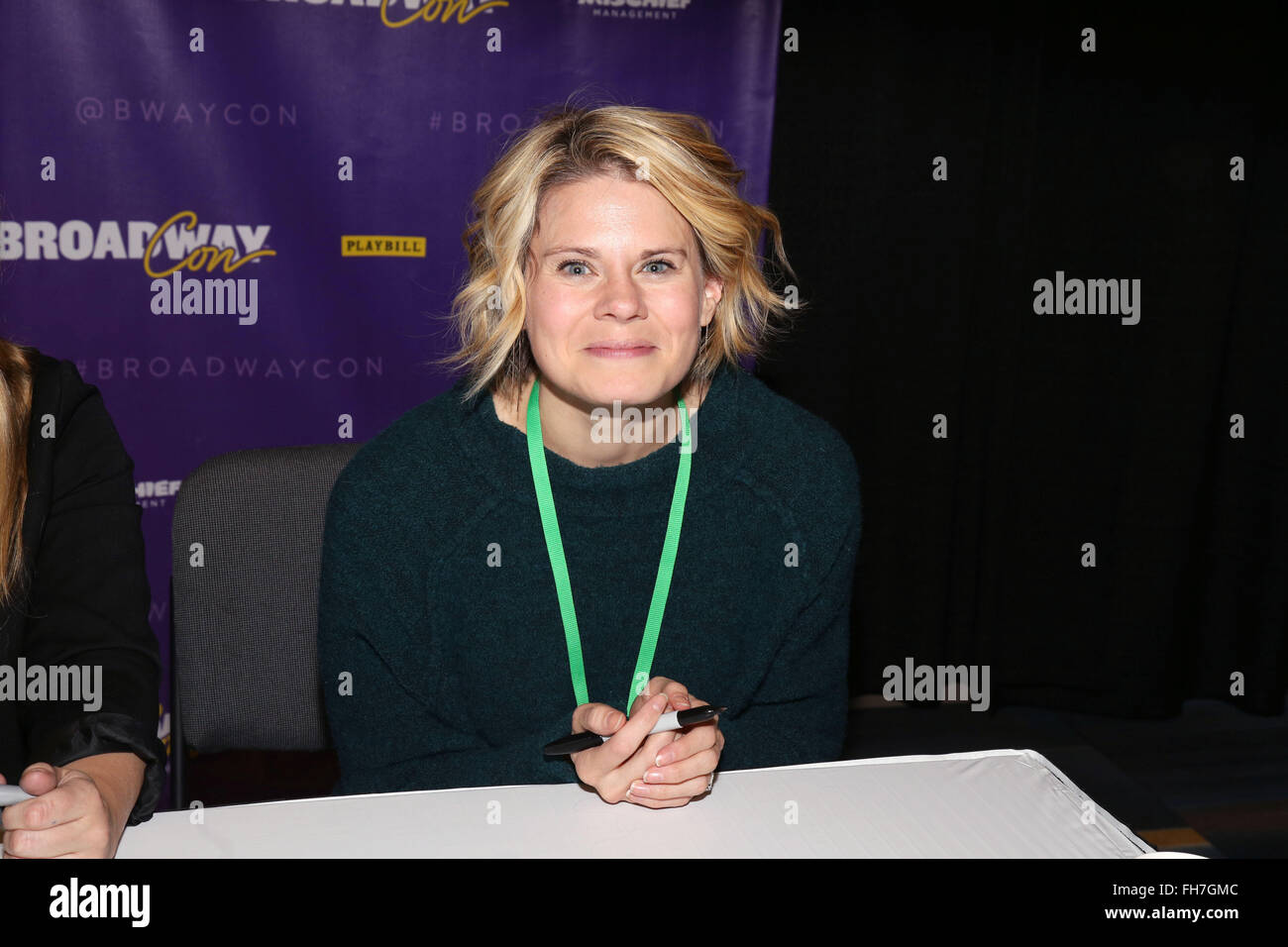 BroadwayCon - Day 2  Featuring: Celia Keenan-Bolger Where: New York, United States When: 01 Jan 1970 - Stock Image
