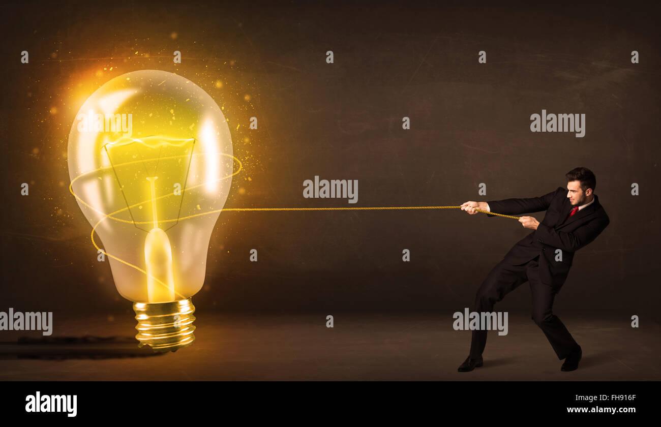 Human Brain Light Glow Stock Photos & Human Brain Light Glow Stock