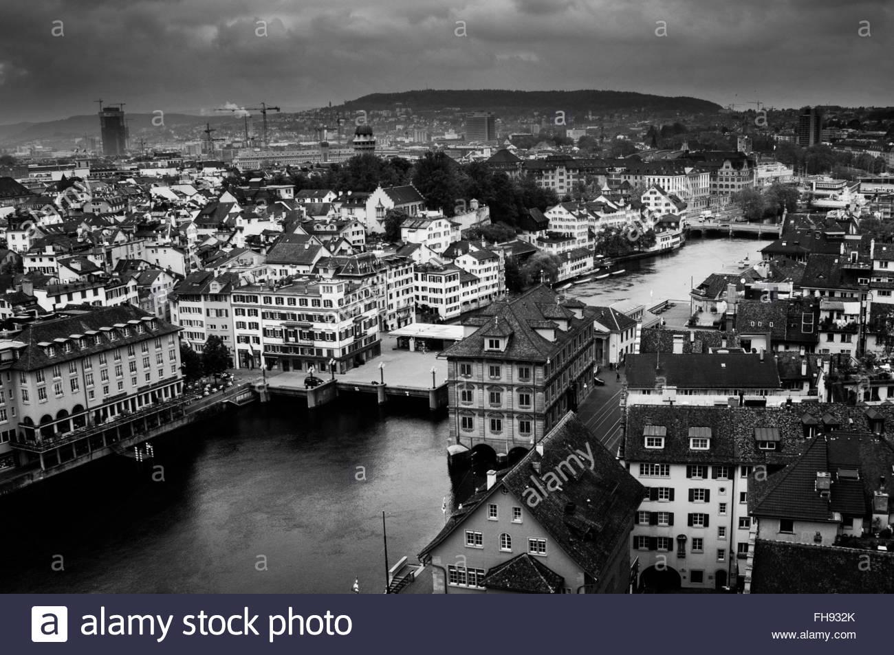 Zurich - Swiss - Stock Image