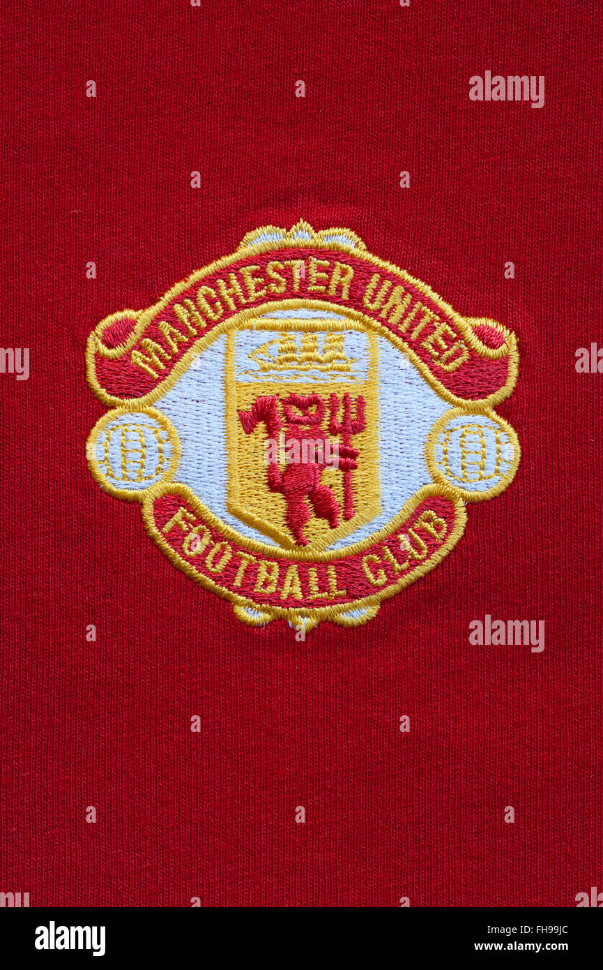Close Up Of Traditional Manchester United Football Club