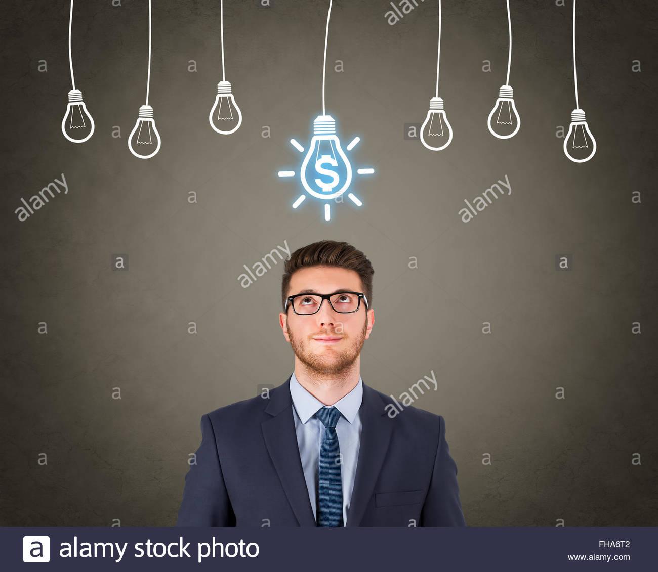 Finance Concept New Idea - Stock Image
