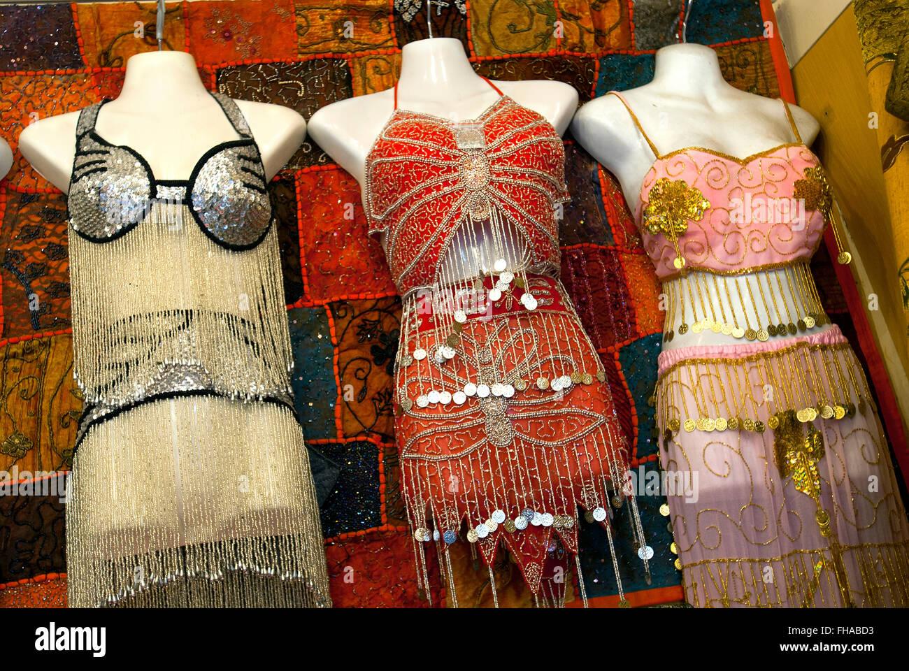 Belly Dance Costumes Dubai United Arab Emirates Stock Photo Dancing