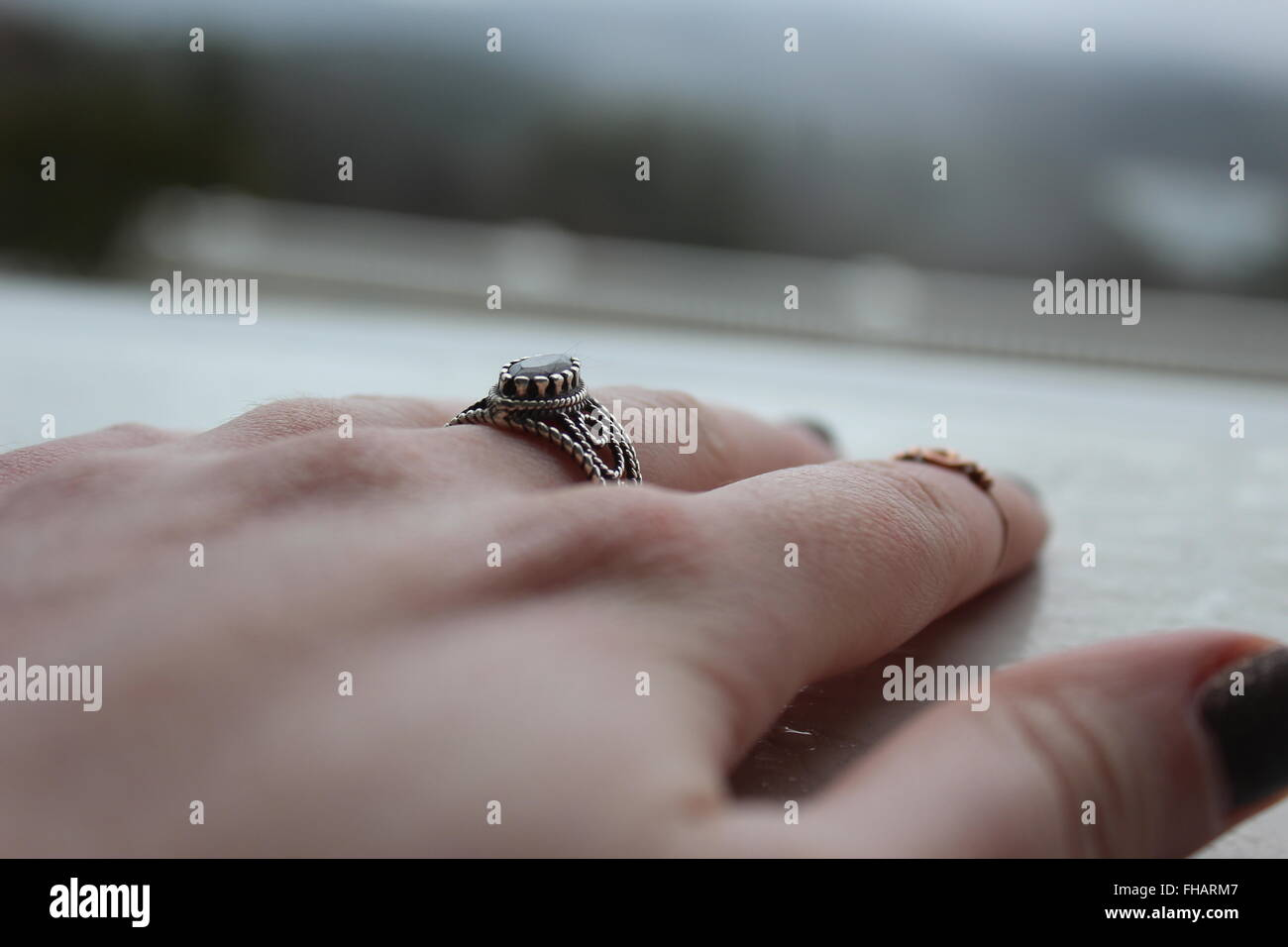 Rings - Stock Image