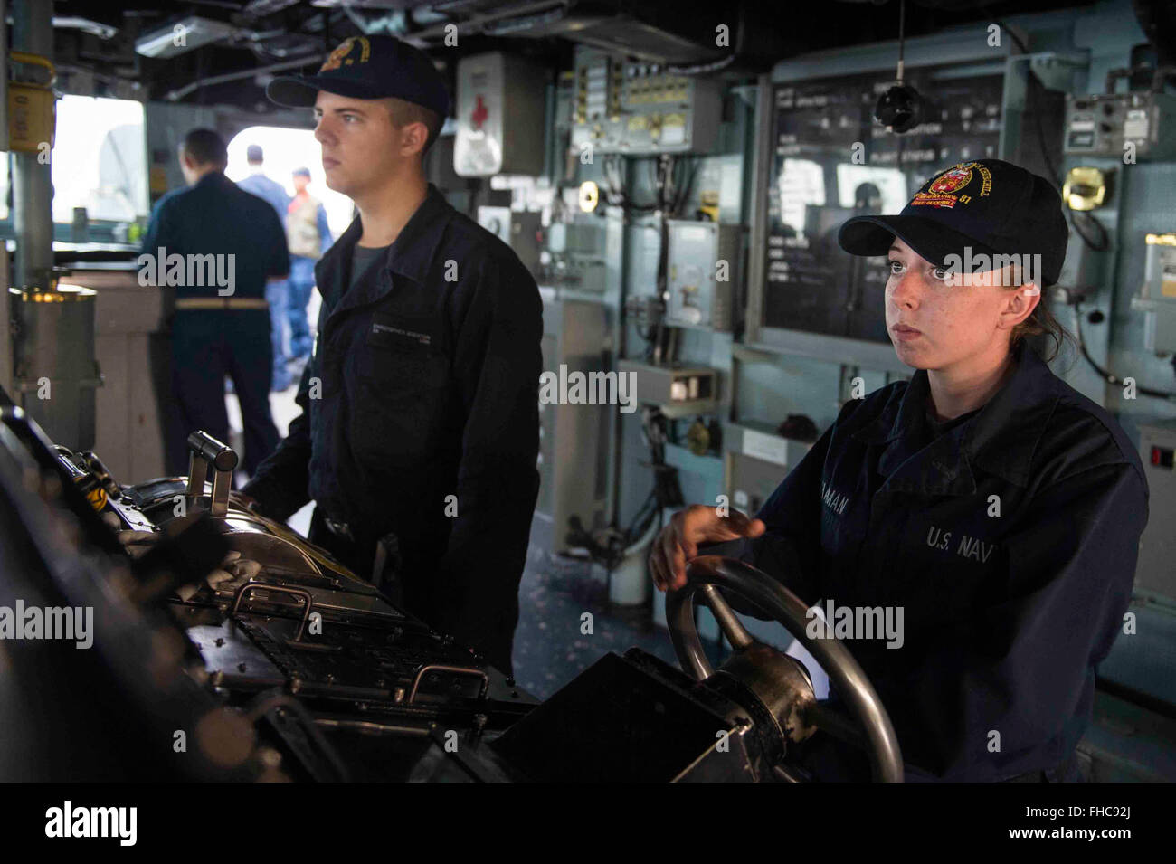 USS Theodore Roosevelt Carrier Strike Group Underway Training 14092 Stock Photo