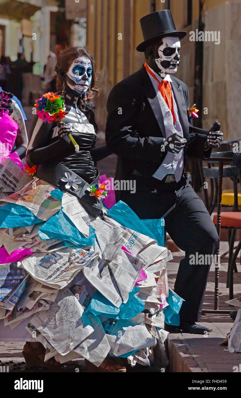 Couple Catrinas Stock Photos Couple Catrinas Stock Images Alamy