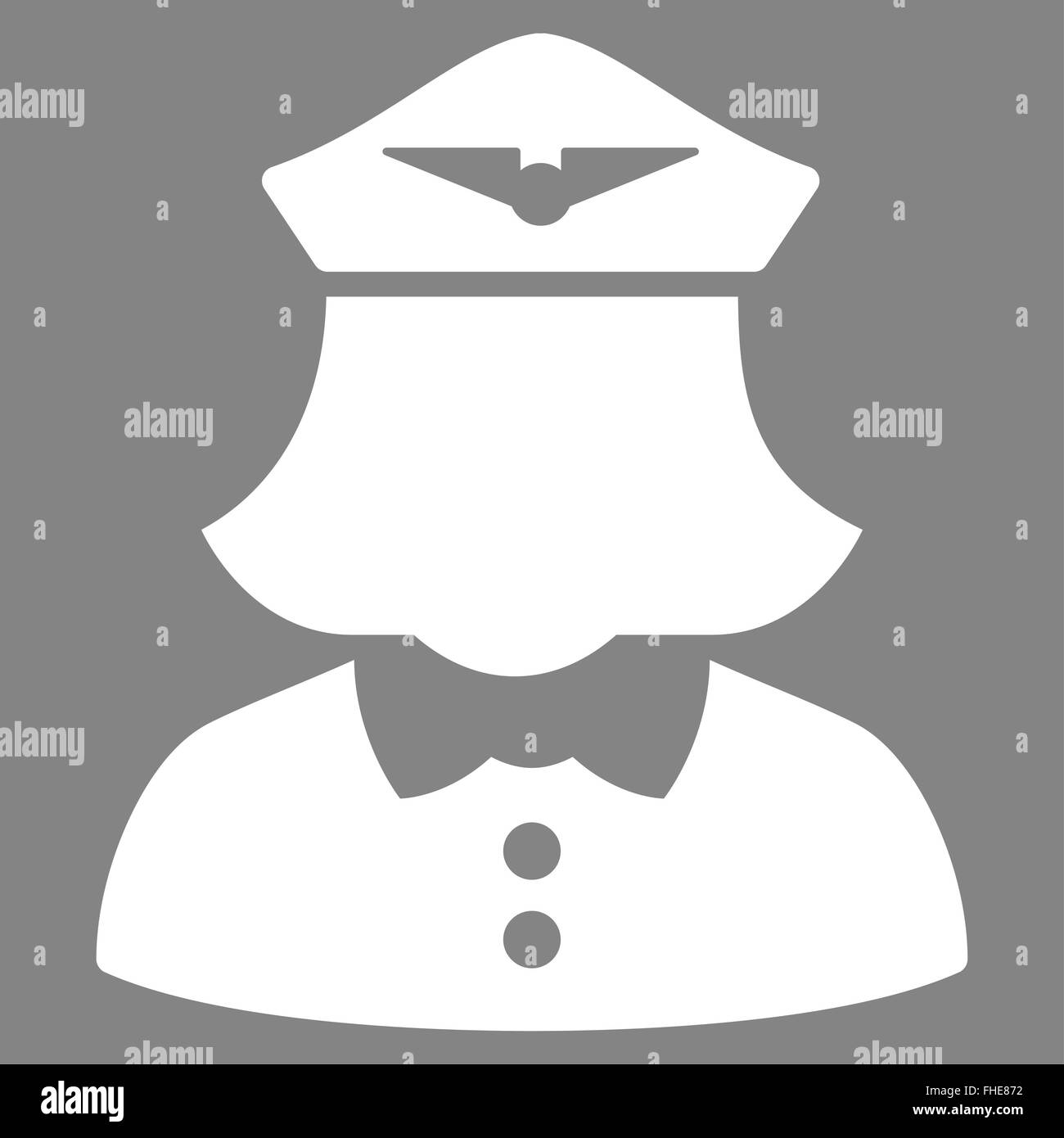 Airline Pilot And Hostess Black And White Stock Photos Images Alamy