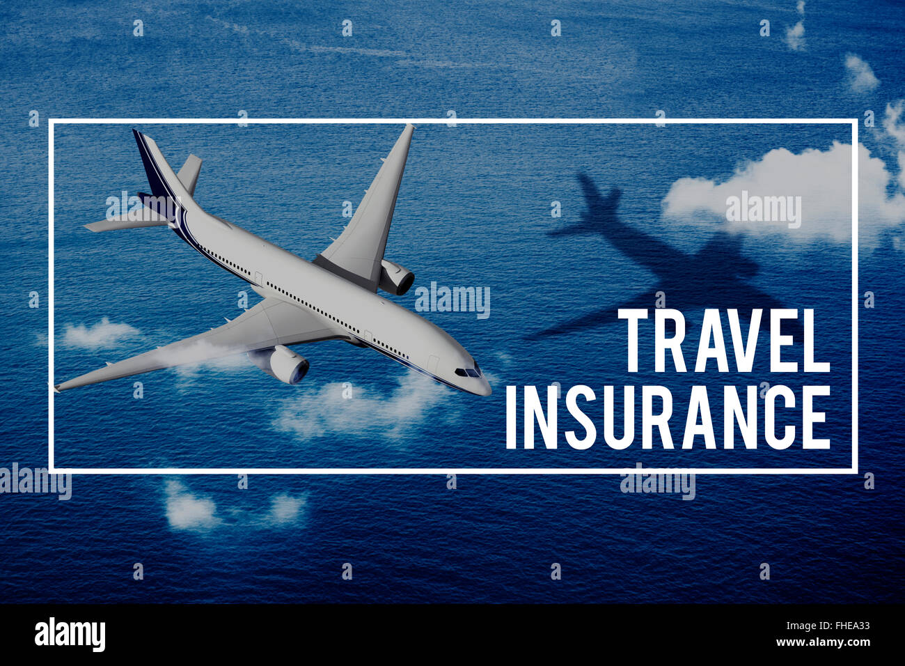 Travel Insurance Protection Vacation Security Tour Concept - Stock Image