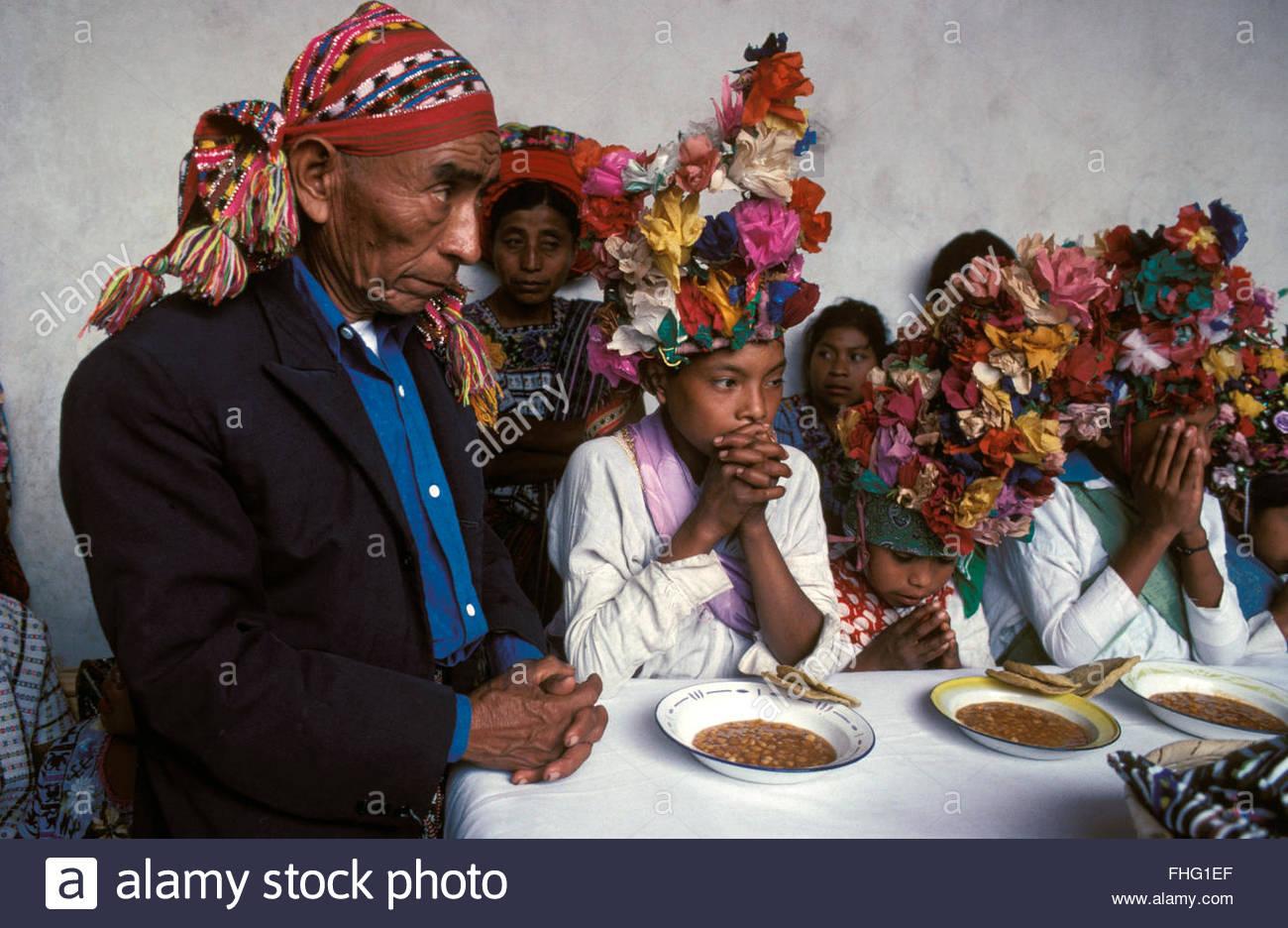 Holi Week, Santiago Atitlan, Guatemala - Stock Image