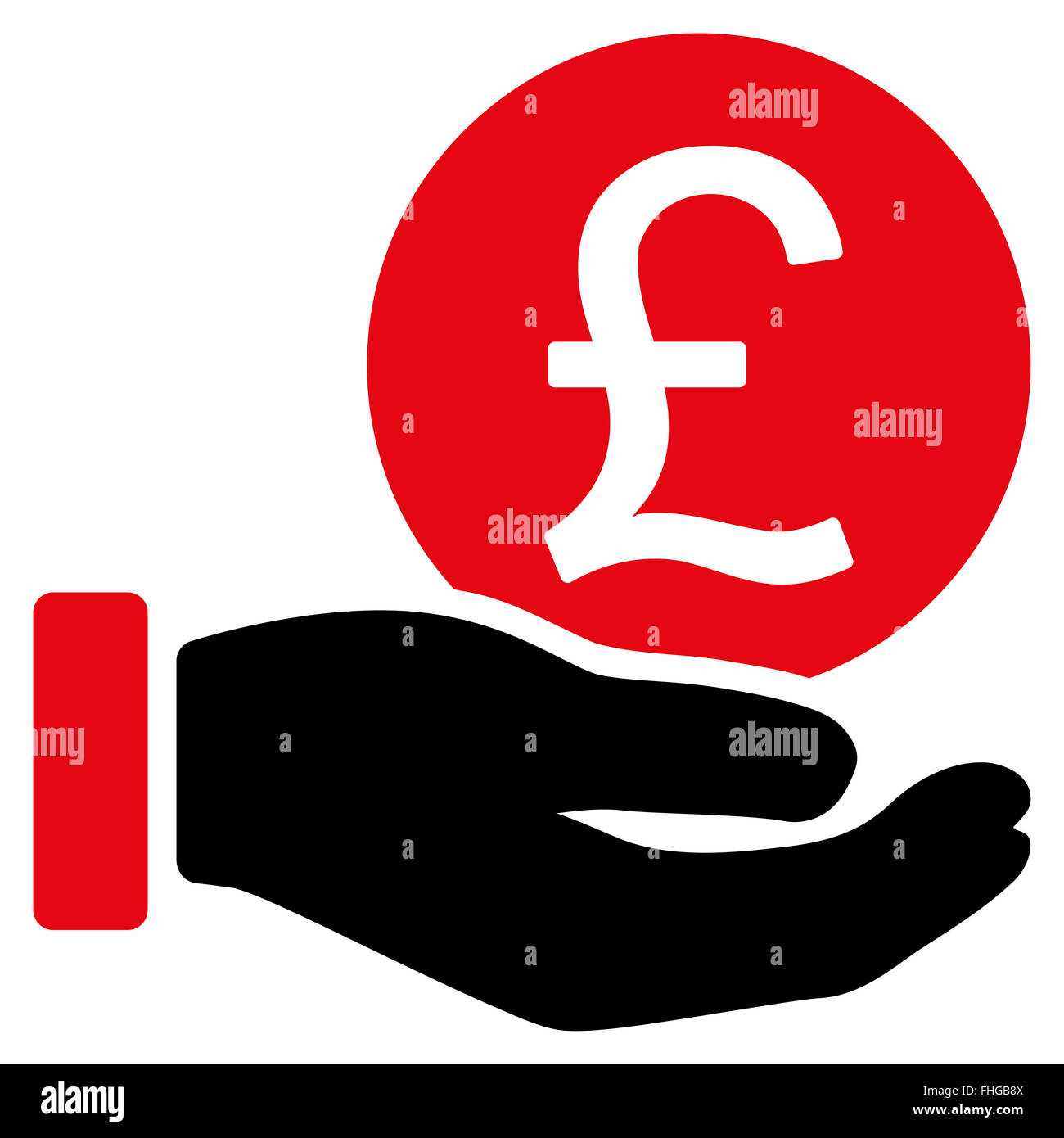 Currency Buy British Pictogram Symbol Stock Photos Currency Buy
