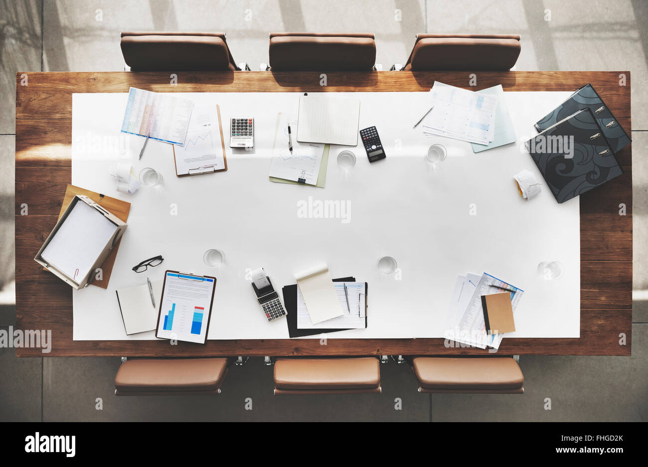 Meeting Room With Target Stock Photos Meeting Room With Target - Target conference table