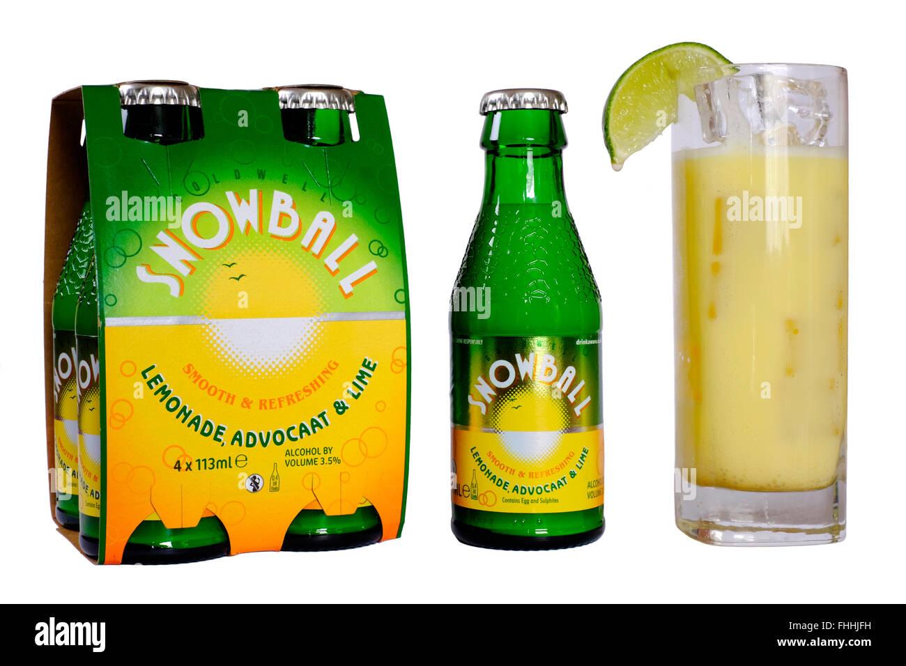 Black Lemonade Alcoholic Drink