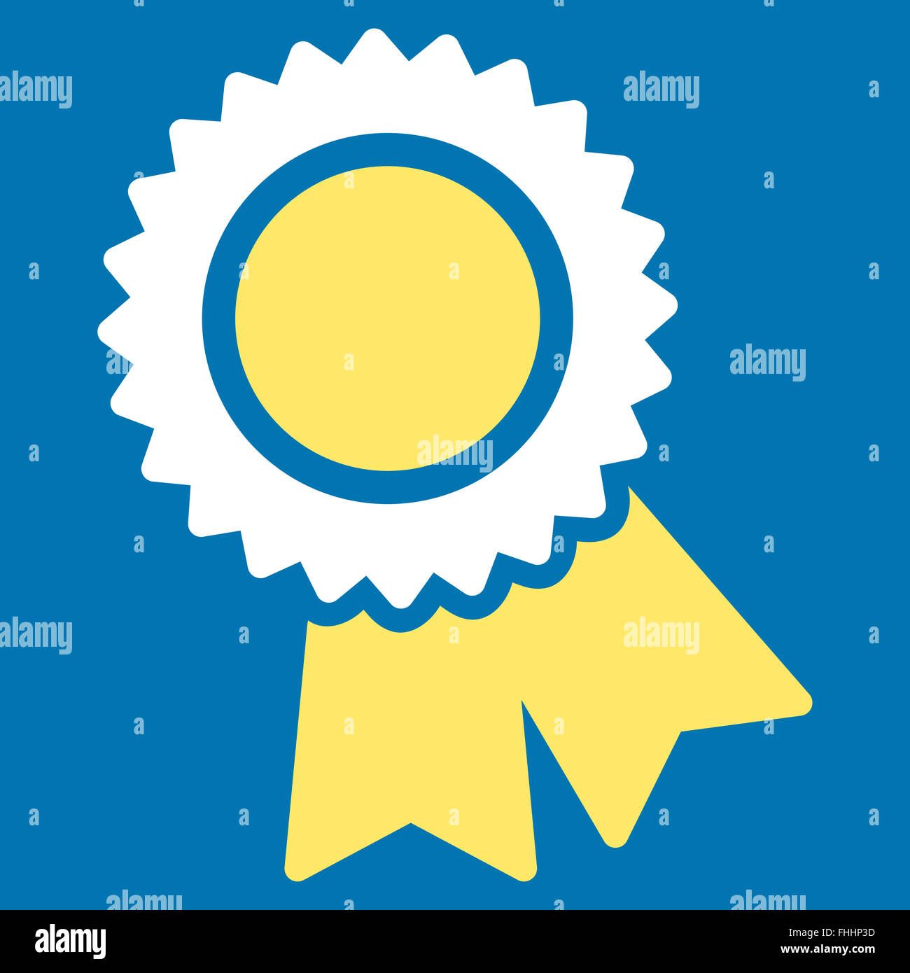 Certification Icon From Competition Amp Success Bicolor Icon Set