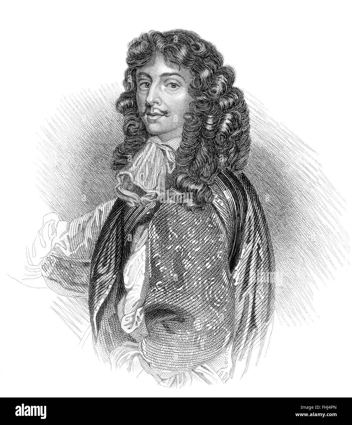 David Leslie, 1st Lord Newark, c. 1600-1682, a cavalry officer and General in the English Civil War and Scottish - Stock Image