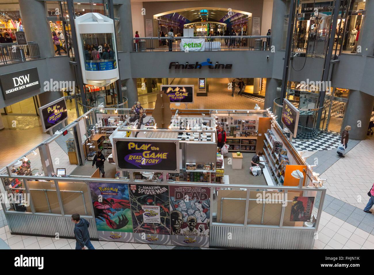 Destiny Mall Syracuse, NY Stock Photo