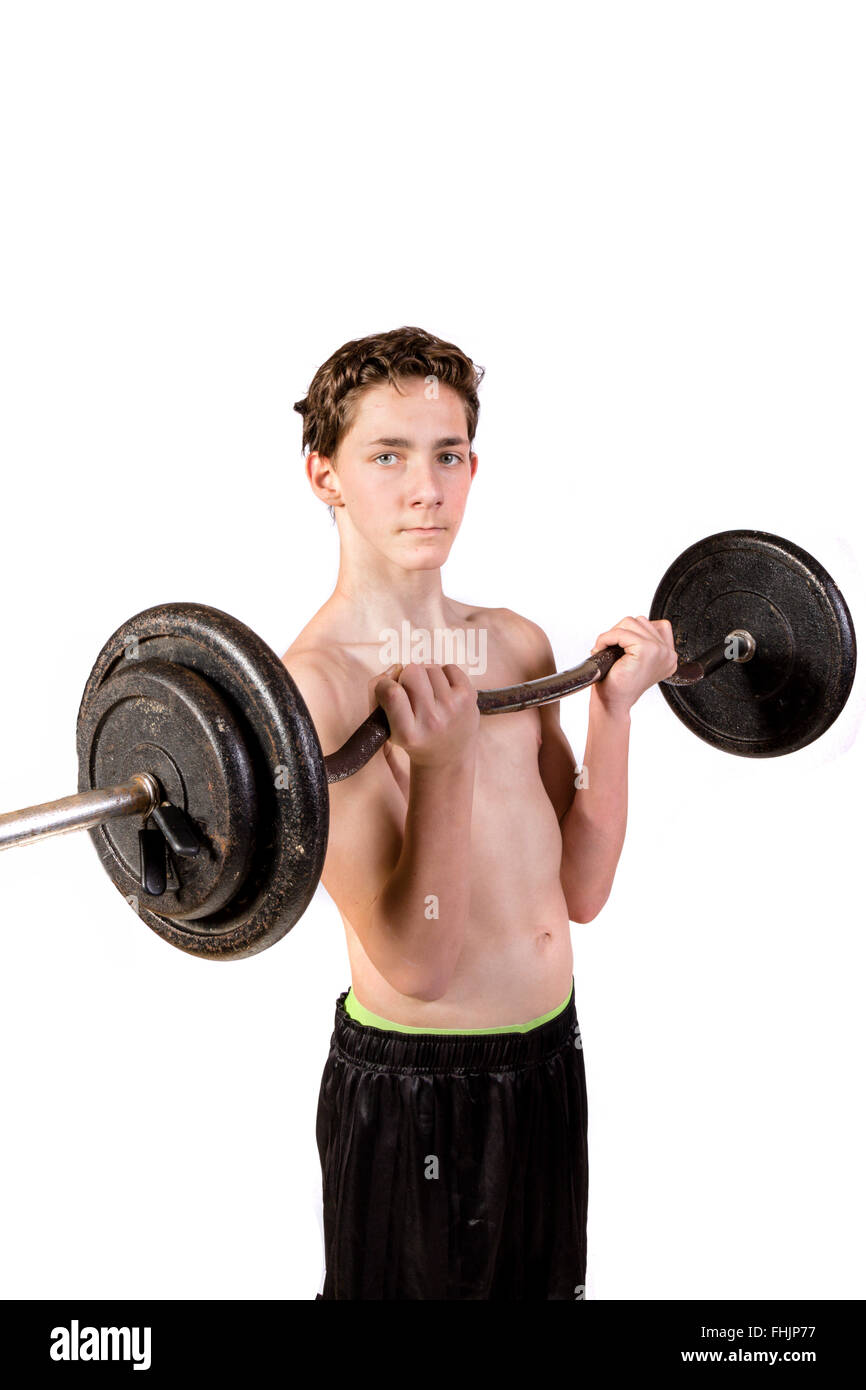 images Weight Lifting for a Teenager