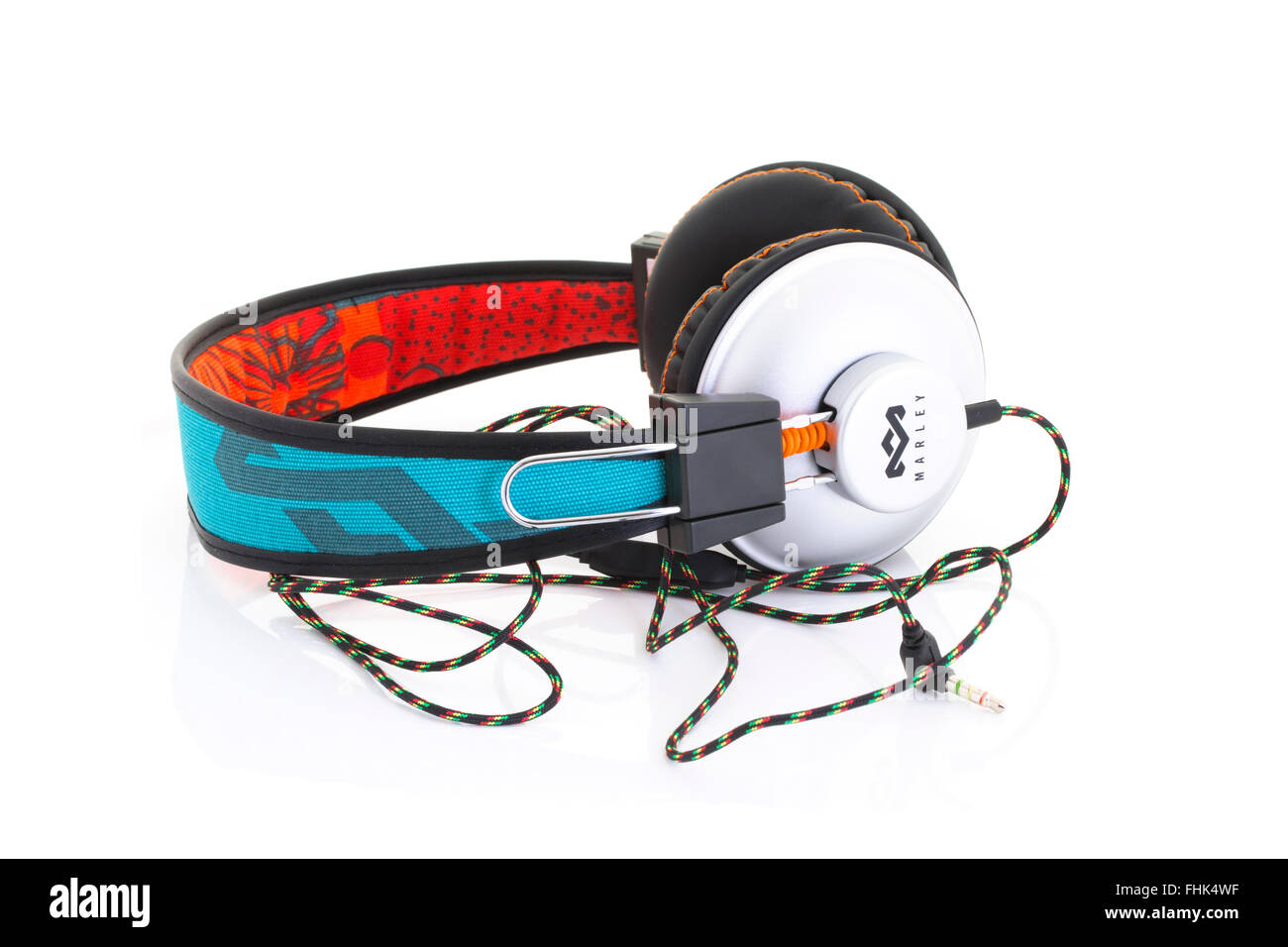 Marley And Me Stock Photos Images Alamy Headset Wiring Diagram Headphones On A White Background Image