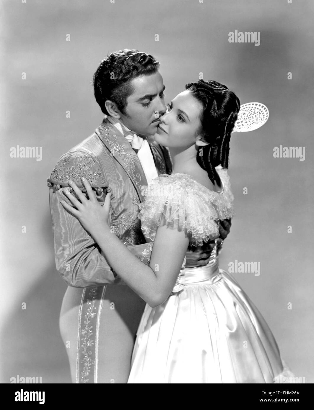 THE MARK OF ZORO 1940 20th Century Fox film with Linda Darnell and Tyrone Power - Stock Image