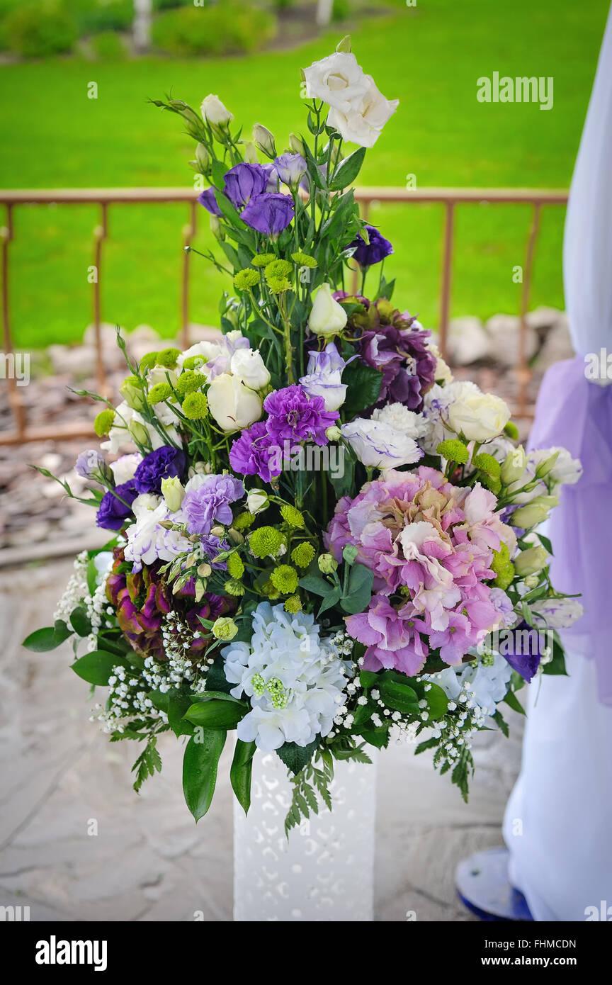 Big Flower Bouquet Blossom Stock Photo 96949825 Alamy