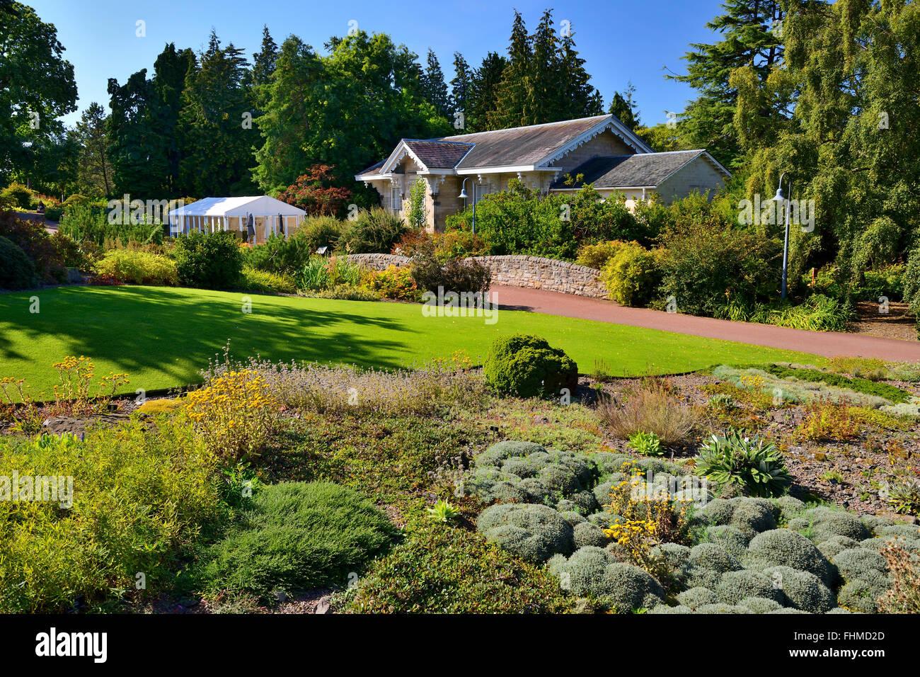 Caledonian Hall, Royal Botanic Garden, Edinburgh, Scotland, UK - Stock Image