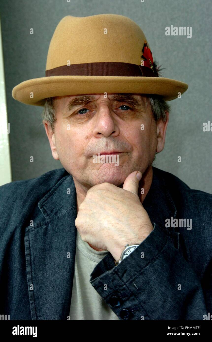 Sylvester McCoy seventh incarnation of Doctor who - Stock Image