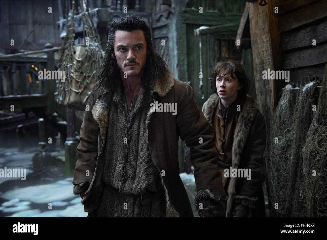 luke evans & john bell the hobbit: the desolation of smaug (2013