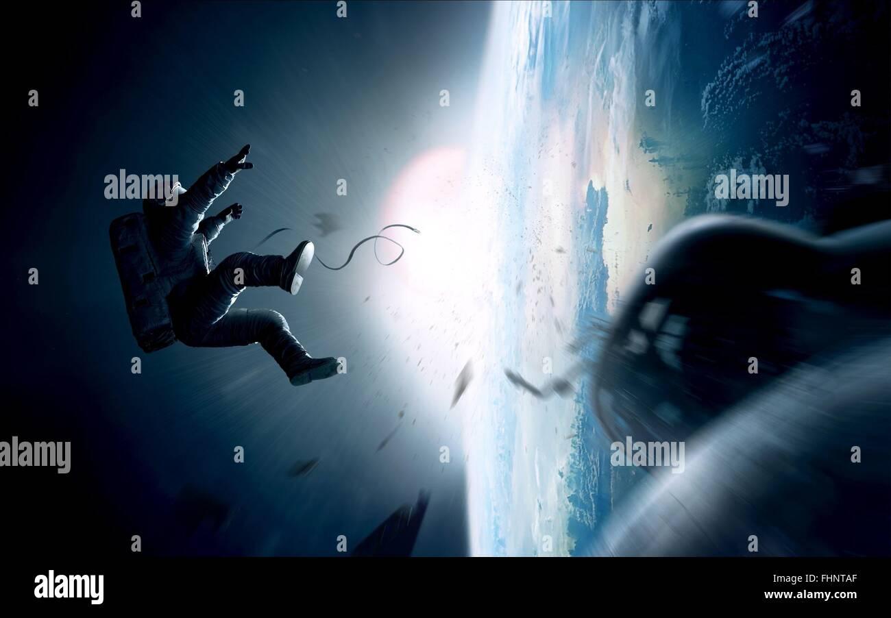 ASTRONAUT GRAVITY (2013) - Stock Image
